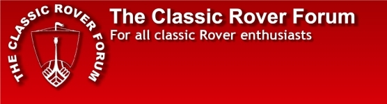 The Classic Rover Forum, for all classic Rover enthusiasts